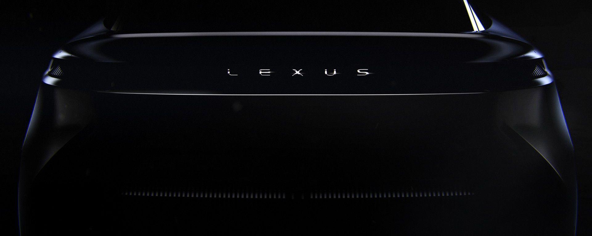 Lexus: il posteriore del nuovo concept