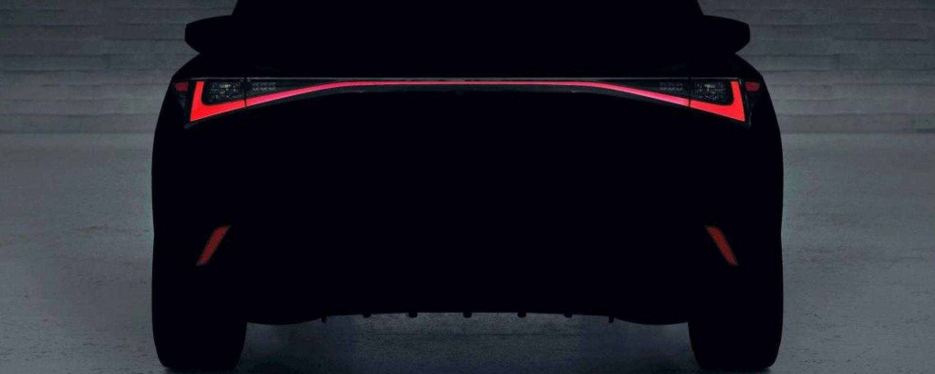 Lexus IS: il teaser della nuova berlina giapponese