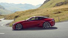 Lexus LC 500: essere coupé tra lusso e tecnologia - Immagine: 10