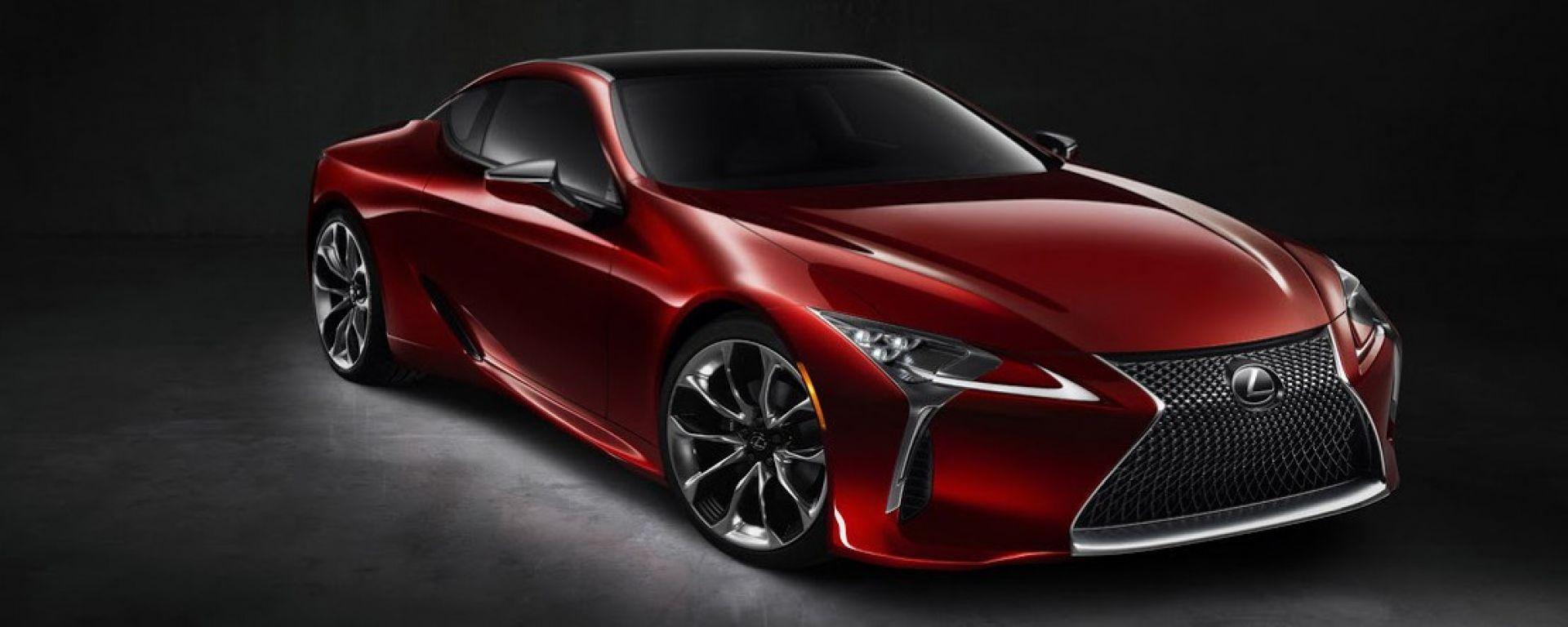 Lexus LC 500: svelata in un nuovo video