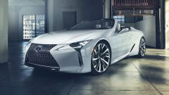 Lexus LC Convertible al Salone di Detroit