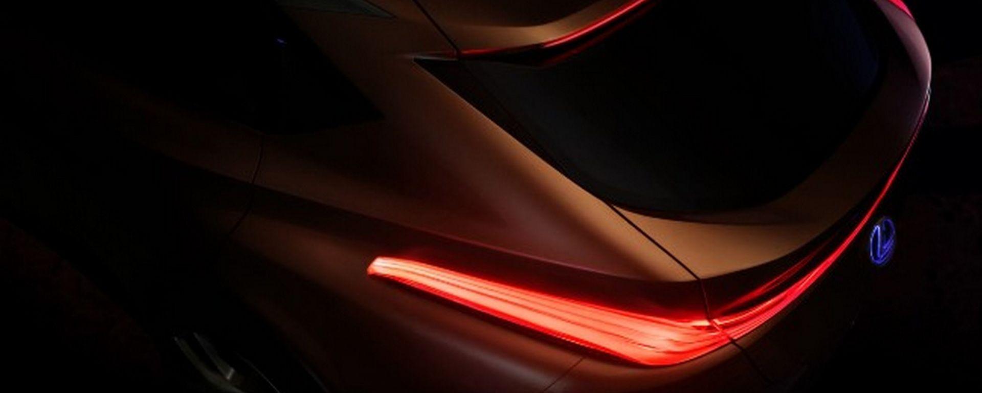 Lexus LF-1: ecco la prima immagine della concept