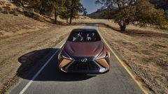 Lexus LF-1 Limitless Concept: il frontale dall'alto