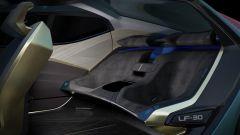 Lexus LF-30 Electrified: i sedili posteriori