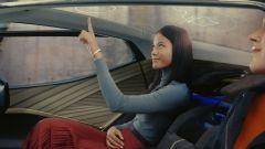 Lexus LF-30 Electrified: il tetto con i comandi touch per i passeggeri posteriori