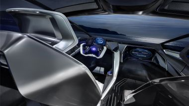 Lexus LF-30 Electrified: la plancia futuristica con lo sterzo by wire