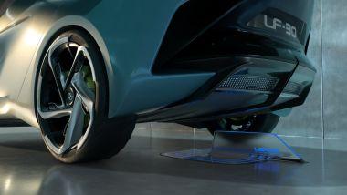 Lexus LF-30 Electrified: la ricarica di tipo wireless 150 kW