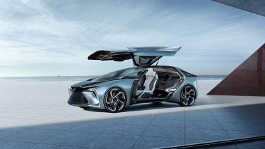 Lexus LF-30 Electrified: le portiere si aprono ad ali di gabbiano