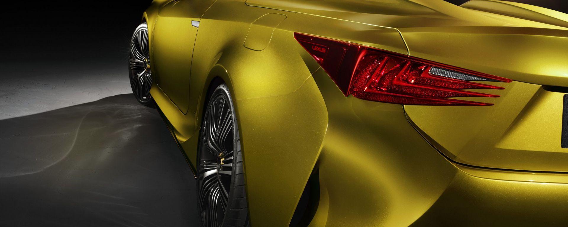 Lexus LF-C2, tutte le foto