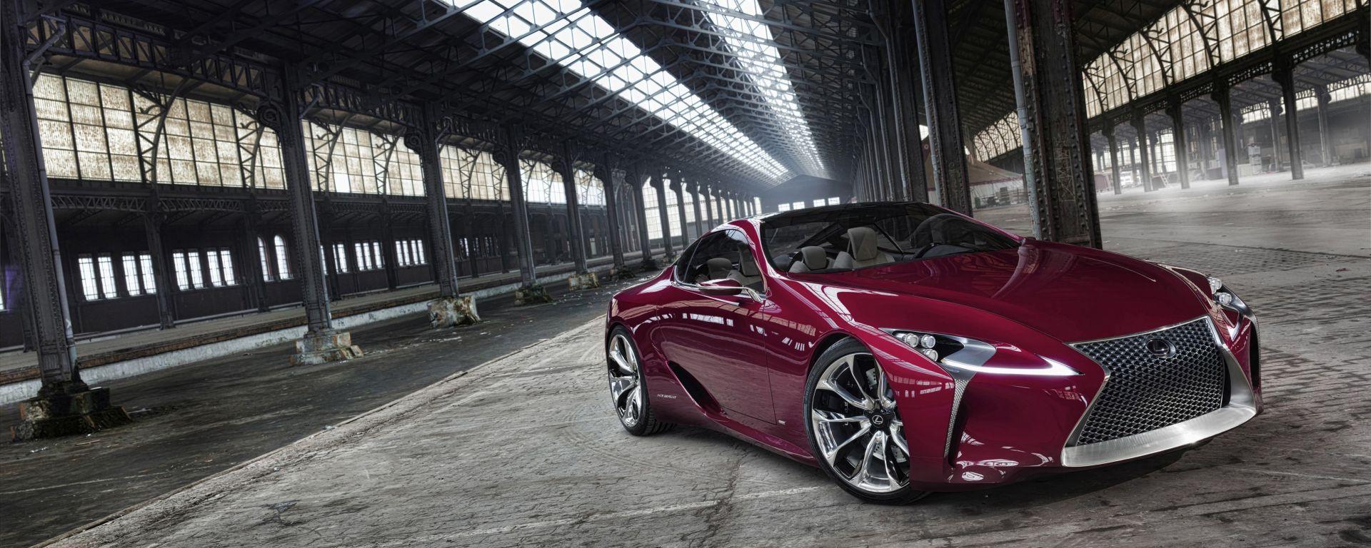 Lexus LF-LC: le nuove foto
