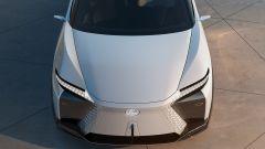 Lexus LF-Z Electrified: il frontale visto dall'alto
