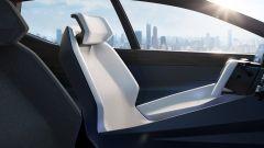Lexus LF-Z Electrified, interni: i sedili