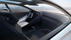 Lexus LF-Z Electrified, interni: l'abitacolo anteriore
