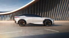 Lexus LF-Z Electrified: vista laterale