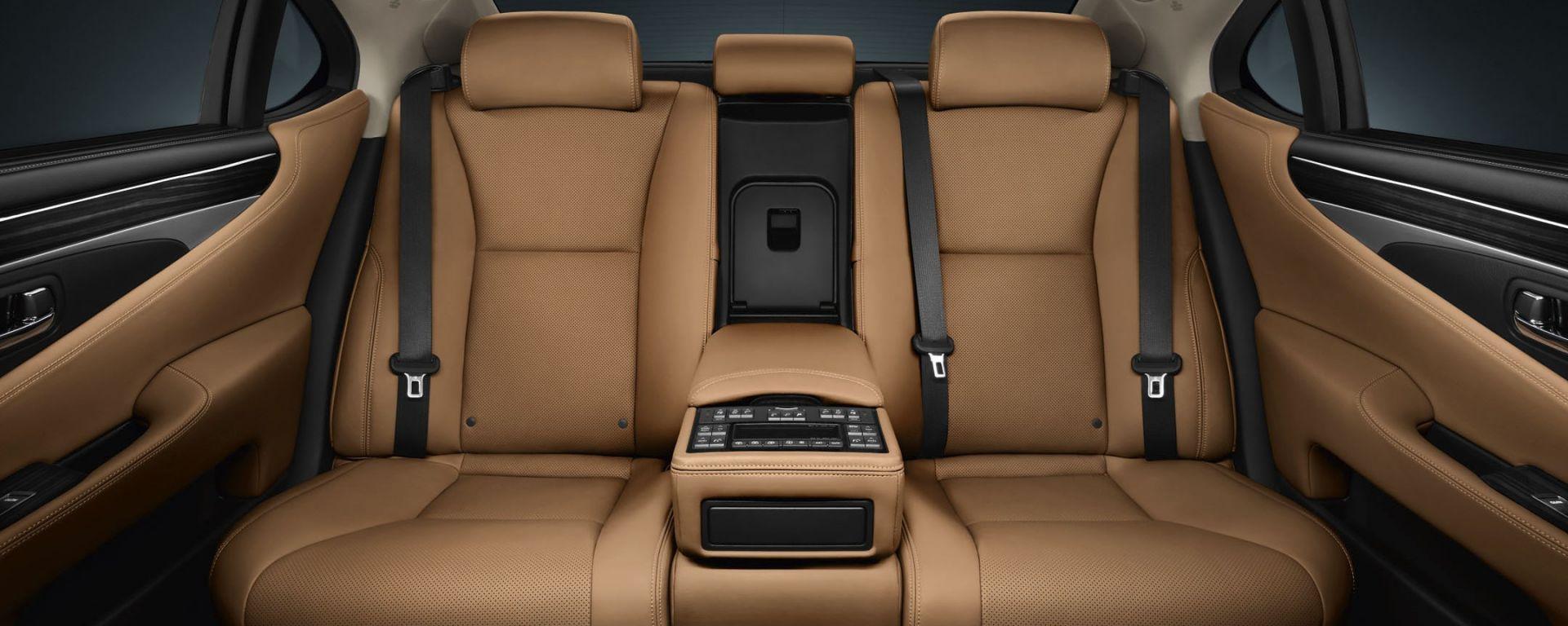 Lexus LS 2013, le nuove foto ufficiali