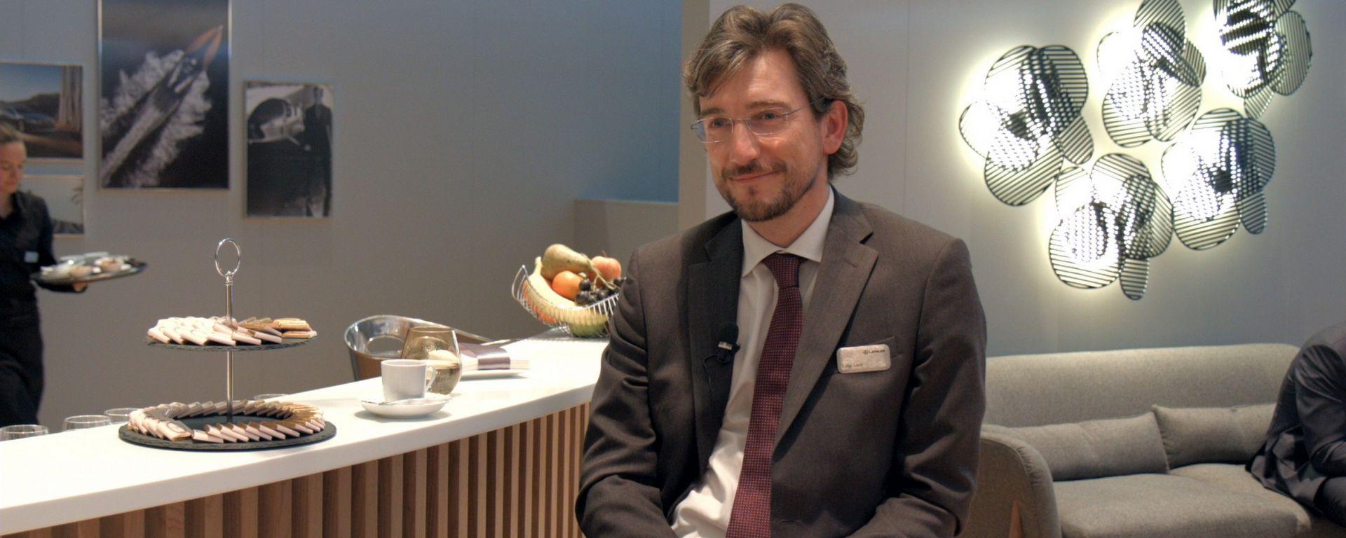 Lexus LS 500h, intervista dal salone di Ginevra 2017, Luigi Lucà, direttore Lexus Division