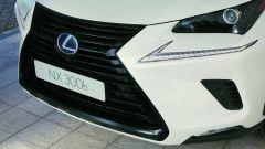 Lexus NH Hybrid Sport, il frontale