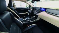 Lexus NH Hybrid Sport, l'allestimento interno