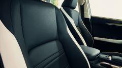 Lexus NH Hybrid Sport, sedili in pelle bicolore