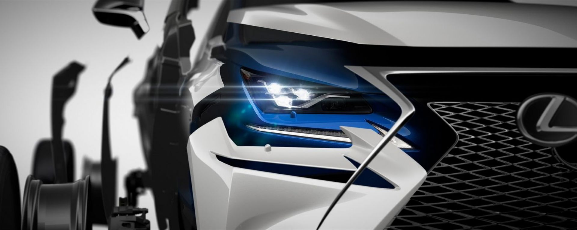 Lexus NX 2018, il teaser del restyling