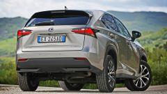 Lexus NX: il posteriore