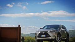 Lexus NX: SUV lungo 463cm e con la trazione integrale