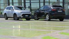 Lexus NX vs Mitsubishi Outlander PHEV: il video  - Immagine: 5