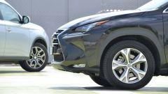 Lexus NX vs Mitsubishi Outlander PHEV - Immagine: 5