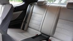 Lexus RC 300h F Sport 2016: i sedili posteriori