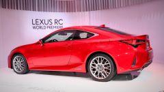 Nuova Lexus RC, il model year 2019 fa il verso alla LC - Immagine: 10