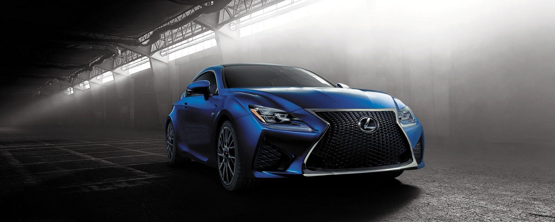 Lexus RC F: le nuove foto
