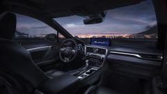 Lexus RX 2019: dettaglio abitacolo