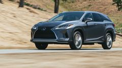 Lexus RX 2019: vista 3/4 anteriore