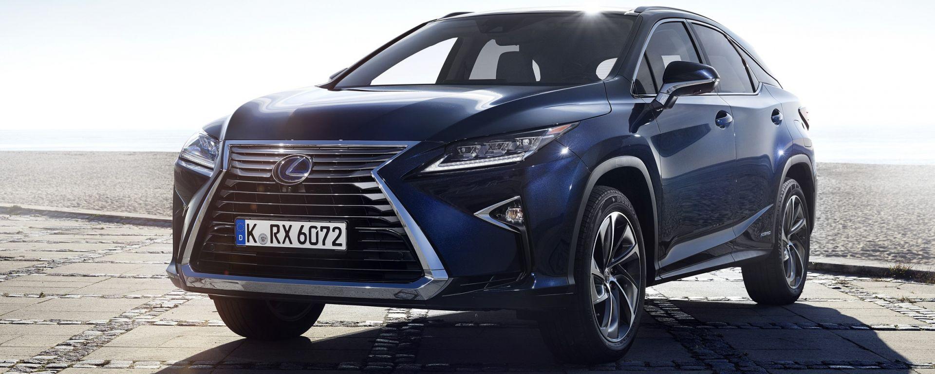 novità auto: lexus rx 450h: prezzi e allestimenti - motorbox