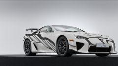 Lexus LFA Art Car segna il debutto alla 24 Ore di Spa di Lexus