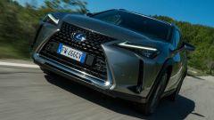 Lexus UX 2019 dinamica 3/4 frontale