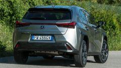 Lexus UX 2019 posteriore dinamica