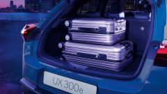 Lexus UX 300e: il bagagliaio