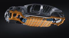 Lexus UX 300e: il sottoscocca è carenato per migliorare i flussi aerodinamici