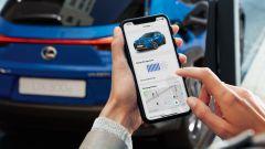 Lexus UX 300e: si gestisce con un'app