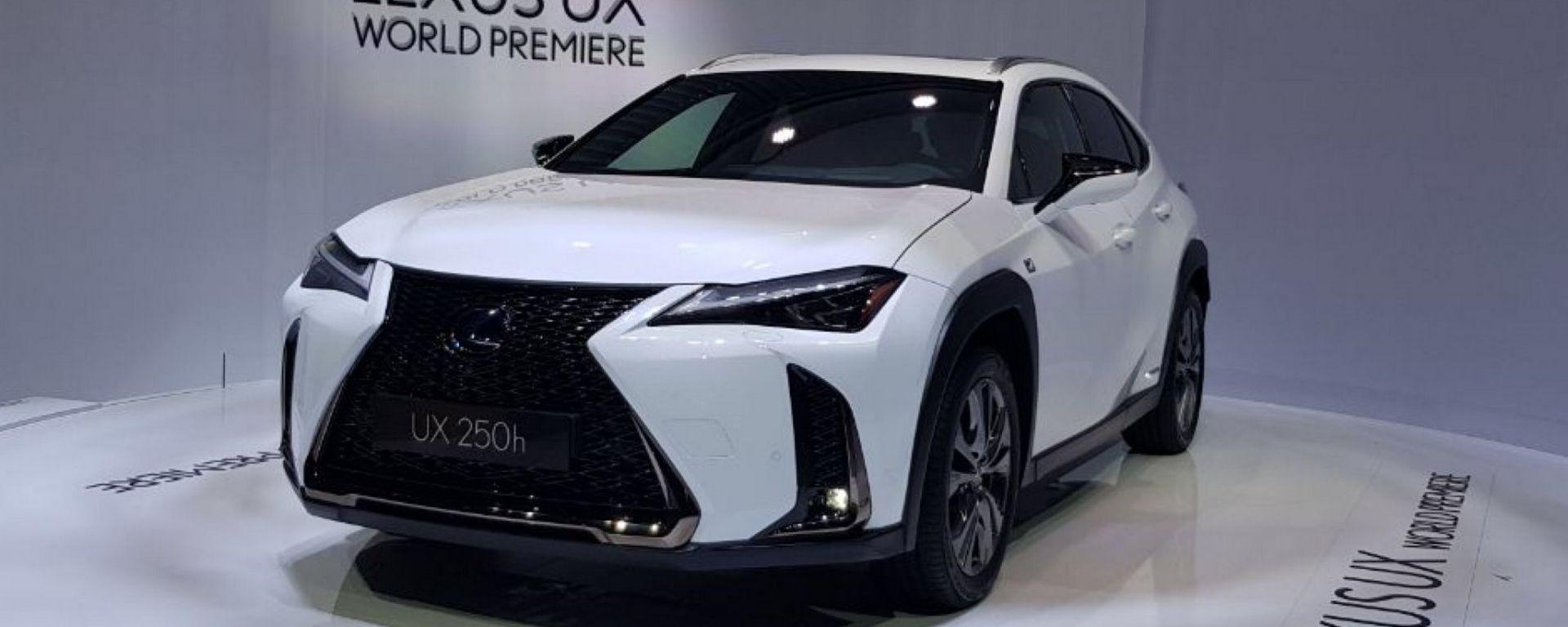 Lexus UX: in video dal Salone di Ginevra 2018