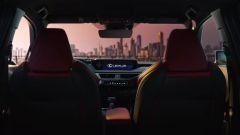Lexus UX, gli interni della versione definitiva