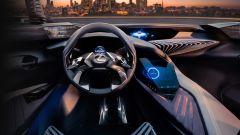 Lexus UX, gli interni