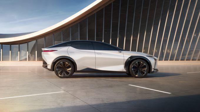 Lexux LF-Z: il concept SUV elettrico