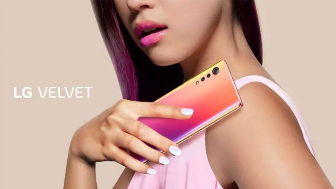 LG Velvet: disponibile in promozione