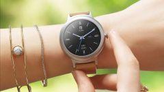 LG Watch Style indossato