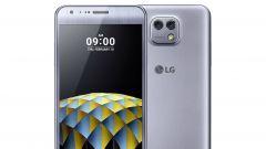 LG X cam: fronte e retro