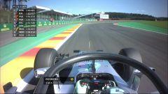 L'Halo in prova sulla Mercedes di Rosberg