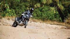 L'Honda Africa Twin in azione con le Dunlop Trailmax Mission