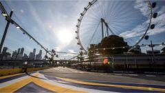 L'iconica ruota panoramica di Marina Bay - F1 GP Singapore